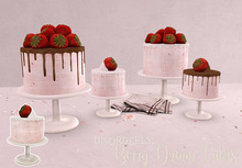 DISORDERLY. / BERRY DREAM CAKE / SINGLE WHITE