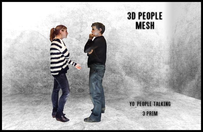 MESH PEOPLE -YO_People Talking