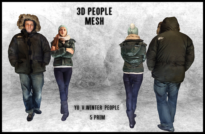MESH PEOPLE -YO_V.Winter_People