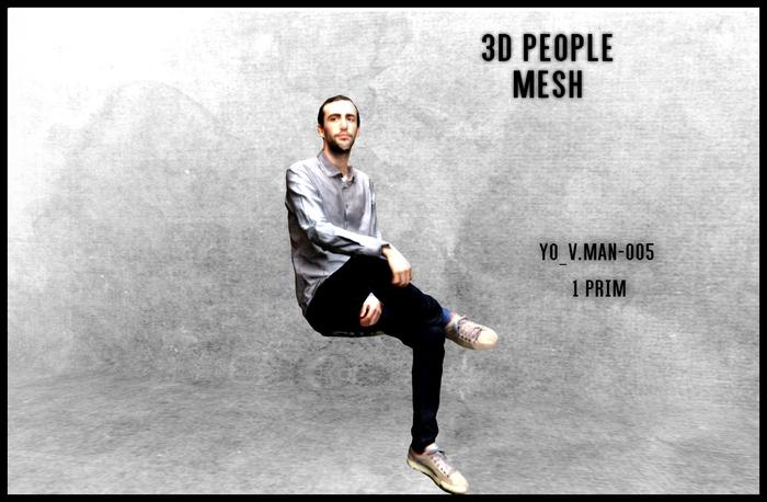 MESH PEOPLE -YO_V.man-005
