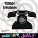 Robot Dolly - Vintage style telephone