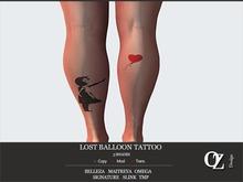 Oz Design : Tattoo Lost Balloon