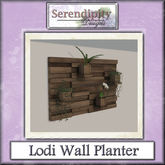 Serendipity Designs - Lodi Wall Planter
