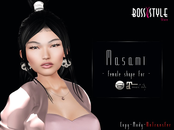 .::Boss Style ::. Shape Masami for bento - Catwa Catya