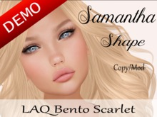 "Samantha Shape ""LAQ Bento Scarlet Head"" Demo"