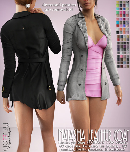 Natasha Coat with Dress Fatpack - adorsy