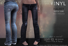 Vinyl - Halsey Jeans Pak Blue