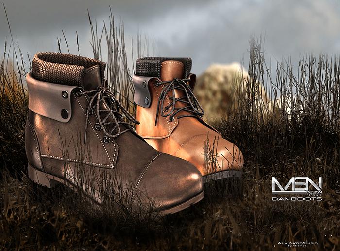 DISCOUNT %40 [MSN Design] Dan Boots [MALE] [FATPACK]