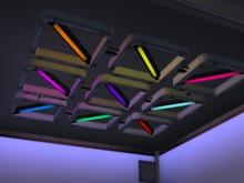underground lights MESH colours resize