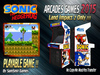 = Sonic = Arcades Games 2015 [BOX]