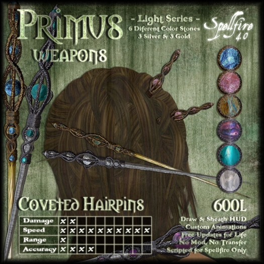 )<SF>(  Primus Coveted Hairpins 4.0 (light) (boxed)