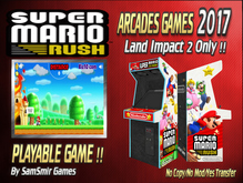 = Super Mario Rush = Arcades Games 2017 [BOX]