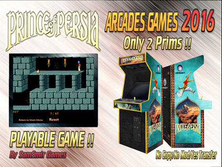 = Prince of Persia = Arcades Games 2016 [BOX]