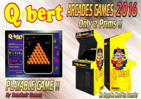 = Q-Bert = Arcades Games 2016 [BOX]