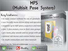 [zED]~MPS~Multisit Pose System 10% CASHBACK OFFER!