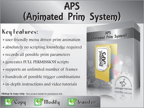 [zED]~APS~Animated Prim System