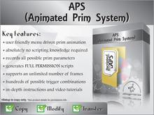[zED]~APS~Animated Prim System 10% CASHBACK OFFER!