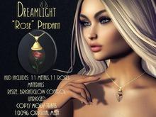 [Dreamlight] Rose Pendant