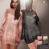 GIZ SEORN - Denise Sweater Dress [Metallic]