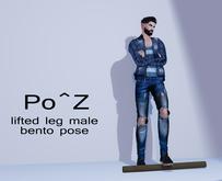 Po^Z Bento - Arms folded leg up ( male )