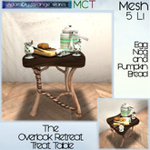~ASW~ The Overlook Retreat Treat Table