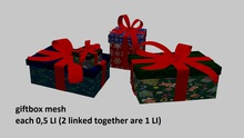 giftbox mesh 0,5 LI -  full perm