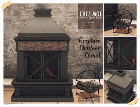 Fireplace Chaud ♥ CHEZ MOI