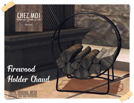 Firewood Holder Chaud ♥ CHEZ MOI