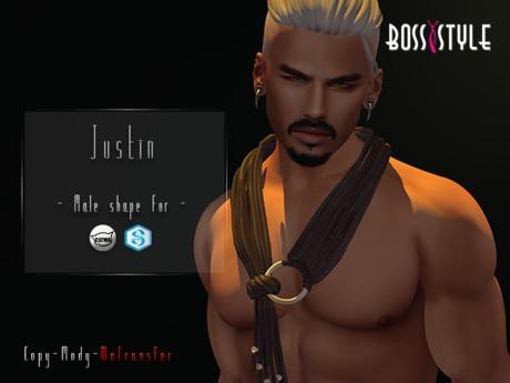 .::Boss Style::. Shape Justin for bento - Catwa Daniel