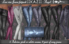 :: KAZ: Flachbau sexy Jeans * ANGEL * 5 FatPack Farben