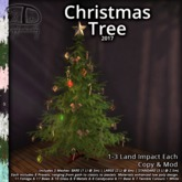 [DDD] Christmas Tree - 3 LI Texture Change Versatile Holiday Tree - Pastel, Goth, Traditional, & More