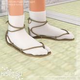 kisetsu - Waraji - Shiroi