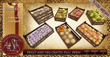 ALESTA << Mesh Fruit and Vegetable Crates Full Perm