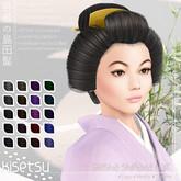 kisetsu - Geisha Shimada Hair - Darkness
