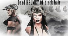 Dead  hair  HELMET 01 (RESIZER)