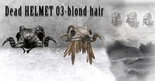 Dead  hair  HELMET 03(RESIZER)