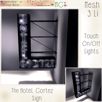 ~ASW~ The Hotel Cortez Sign