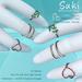 Slipper - Suki Bento Midi Rings