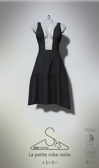 [sYs] La Petite Robe Noire (fitted & body mesh) GIFT <3