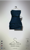 [sYs] RUBAN dress (fitted & body mesh) - blue GIFT <3