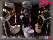 zOOm - Stone Washed Heels