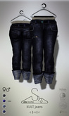 [sYs] KULT jeans (fitted & body mesh) Men & Women - raw