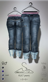 [sYs] KULT jeans (fitted & body mesh) Men & Women - used