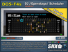 SHX-DOS-F4s Club DJ Open-Stage Scheduler 24/7