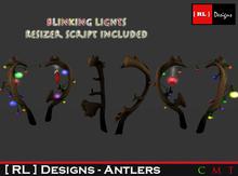 [ RL ] Designs - Reindeer Antlers
