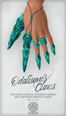 Odalisque's Claws ~ Emerald