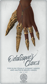 Odalisque's Claws ~ Gold