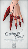 Odalisque's Claws ~ Red