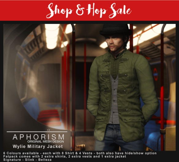 !APHORISM! - Wylie Military Jacket Fatpack - 30% OFF