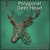 [DDD] Polygonal Deer Head